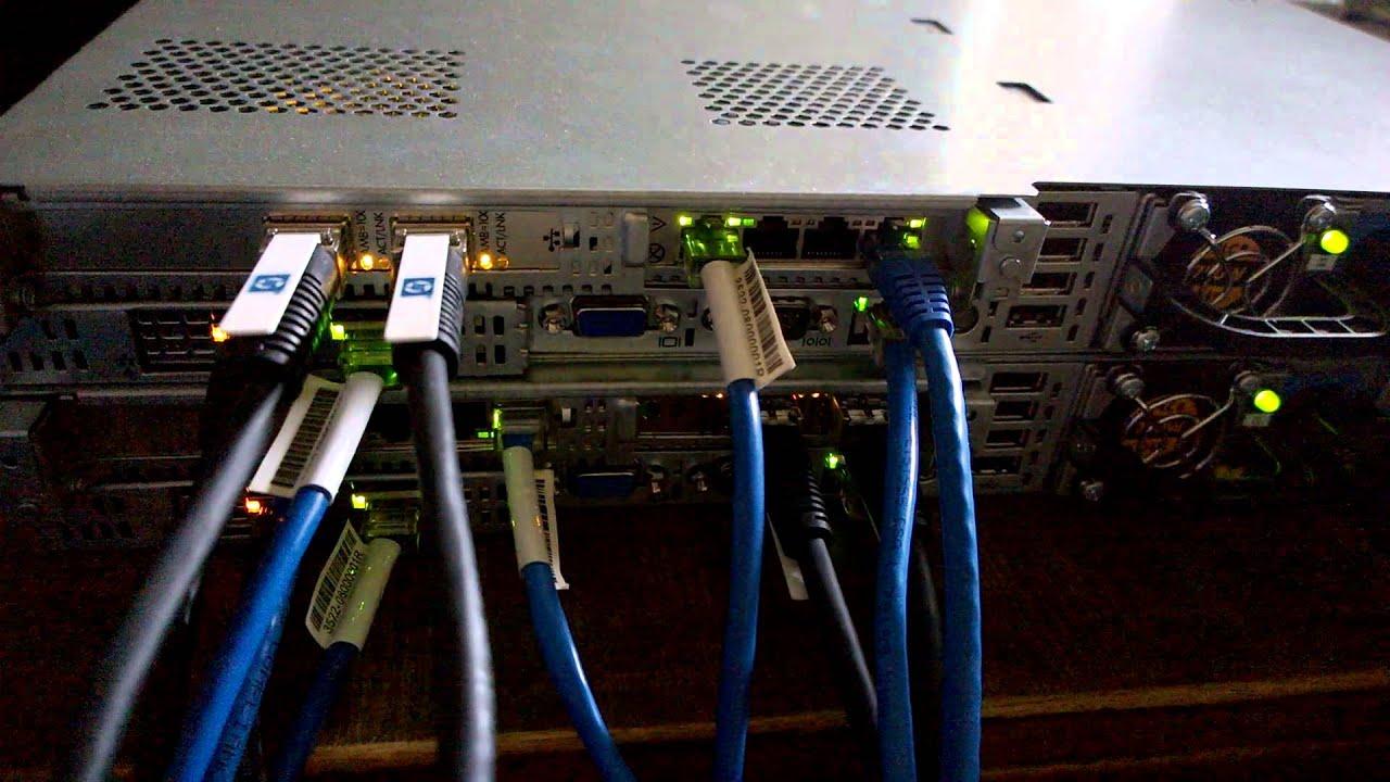 Hpe Dl360p Gen8 10gb Dac To Hpe Msa 2040 Dual Controller