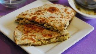 Chicken Pesto Quesadillas ~ Quick Lunch