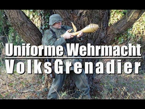 Uniforme VolksGrenadier - Présentation d'uniforme - FEAT Répliques du Grenier