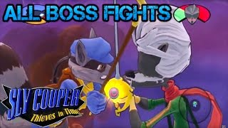 Sly Cooper: Thieves in Time -Ultimate All Boss Fights - In 1080p/60FPS - Recorded from PS3
