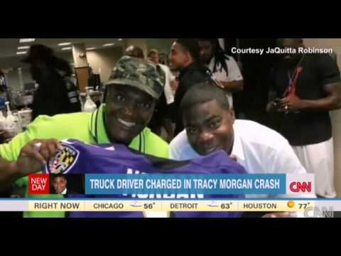 TRACY MORGAN Accident Video