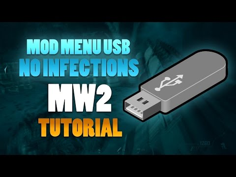 MW2 ONLINE Mod Menu USB NO Jailbreak NO CFG Infections | FULL Video TUTORIAL 2017