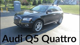 2017 Audi Q5 SUV Quattro 2.0T | Full Enterprise Rental Car Review and Test Drive