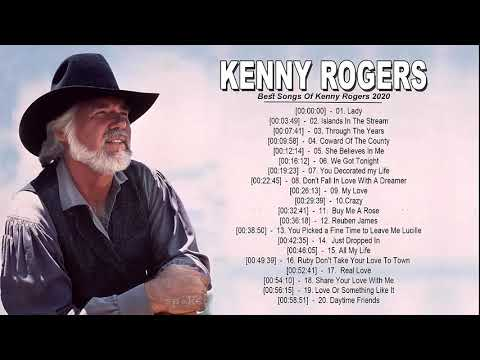Kenny Rogers Greatest Hits 2020 - Best Songs Of Kenny Rogers  - Kenny Rogers Playlist All Songs