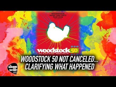 Woodstock 50 NOT CANCELED... Clarifying What Happened Mp3