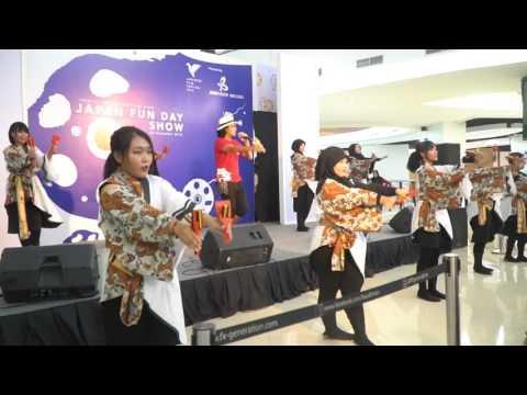 Yosakoi Naruko Odori Hyakka Ryouran - Yosakoi Naruko Dancing at Japan Fun Day 2016