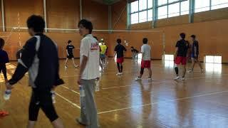2017/11/11 南井町スポーツ会館 練習試合.