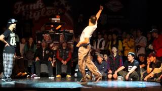 Funk Stylers Battle Vol.5 Popping semi final 4-2