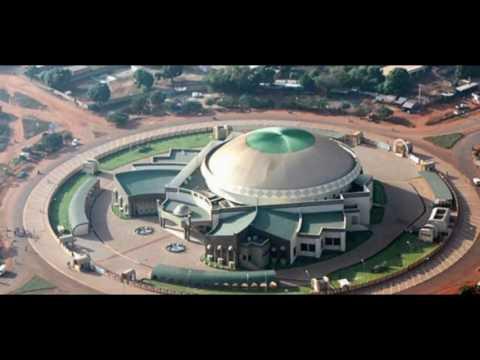 Le centre ville de Ouagadougou la capitale du Burkina Faso