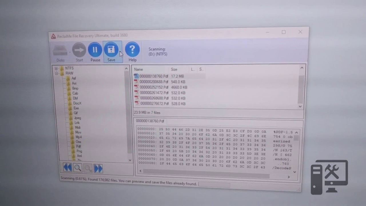 Use ReclaiMe to recover data from NAS or other drive