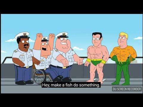 Namor And Aquaman In Family Guy Youtube