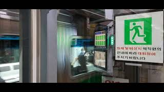 [서울교통공사] 서울 지하철 2호선 4차분 R283편성 외순순환 열차 을지로3가역 발차