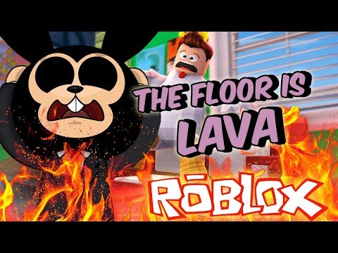 THE FLOOR IS LAVA EN ROBLOX! 🔥😵 Nos Encontramos a un Hacker!