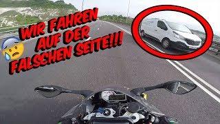 Wir fahren absichtlich auf der FALSCHEN SEITE!? - DriftVlog mit Blackout