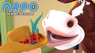 ARPO The Robot For All Kids | Flower Power! | Full Episode Compilation | Cartoon for Kids
