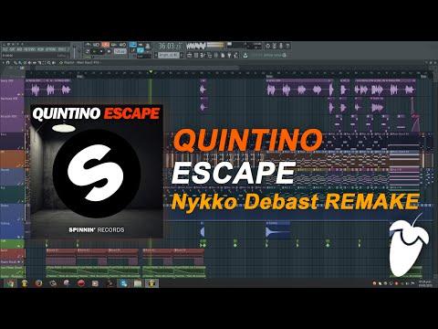 Quintino - Escape (Into The Sunset) (Original Mix) (FL Studio Remake + FLP)