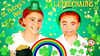 St. Patrick's Day Leprechaun Costumes and Makeup Tutorial