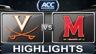 2013 ACC Football Highlights | Virginia vs Maryland | ACCDigitialNetwork