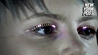 These LED eyelashes will turn heads on the dance floor   New York Post