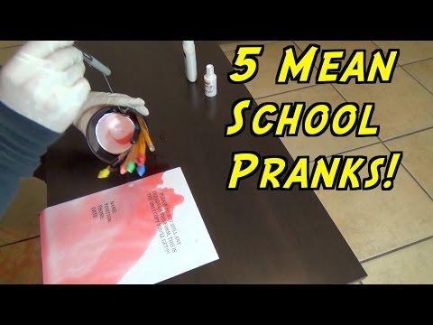 5 Mean School Pranks That Never Fail!!!