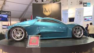 Imad Morchid, inventeur d'une voiture 100% électrique   2M