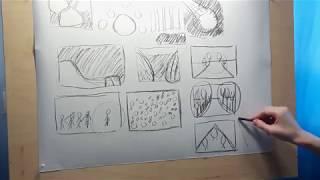 #2 Основы композиции в живописи и рисунке | что такое композиция