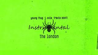 Young Thug - The London (INSTRUMENTAL) (ft. J. Cole & Travis Scott) By Fabestar