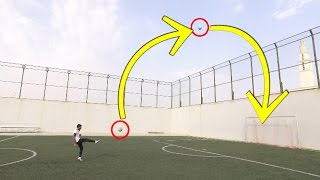 سوينا اقوى تحديات | تحدي اصقع الكوره اللي بالهواء وتدخل هدف !! | challenge football Crossbar
