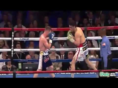 CANELO ALVAREZ VS JULIO CHAVEZ JR. HIGHLIGHTS