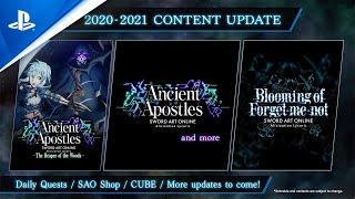 Sword Art Online Alicization Lycoris - Additional Scenarios & DLC 1   PS4