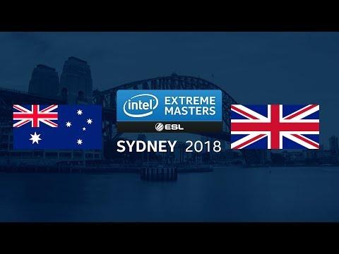 CS:GO - Team Australia vs. Team UK [dust2] - Showmatch - IEM Sydney 2018