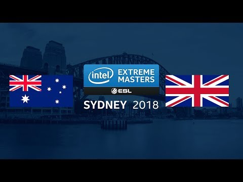 CS:GO - Team Australia Vs. Team UK [dust2] - Showmatch - IEM Sydney 2018