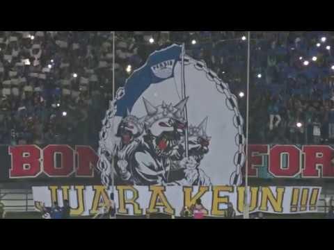 KOREO 3D! Atmosfer Jelang Kick Off Persib Bandung vs Mitra Kukar | Liga 1 2018 | ((FULL HD))