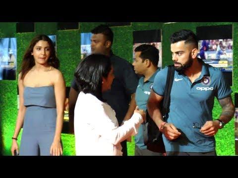 Anushka Sharma patiently waits for boyfriend Virat Kohli to finish talking to his friends!