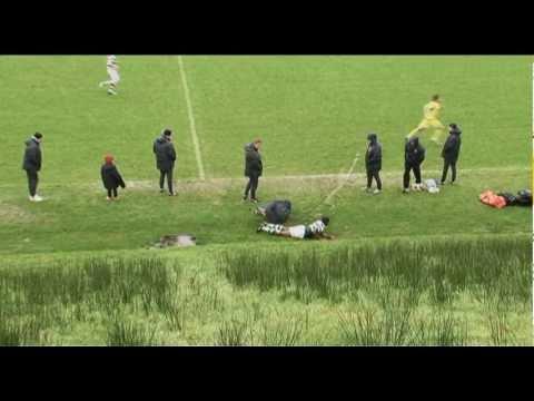 Celtic FC - Andre Blackman Tackle on Neil Lennon