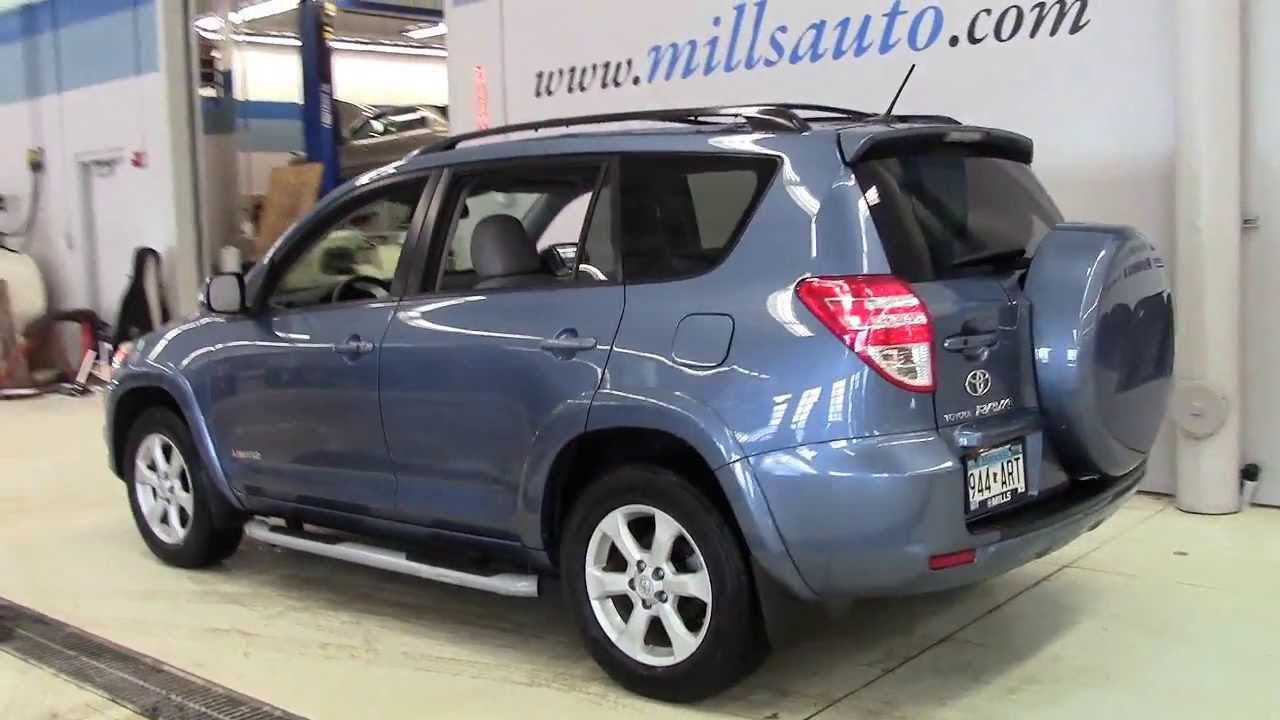2009 toyota rav4 4wd v6 at limited 3j140020a youtube. Black Bedroom Furniture Sets. Home Design Ideas