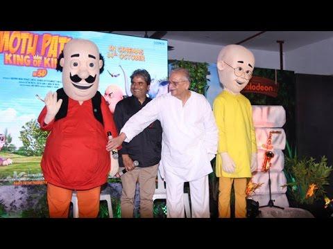 Motu Patlu King Of Kings Movie Music Launch - Gulzaar & Vishal Bhardwaj