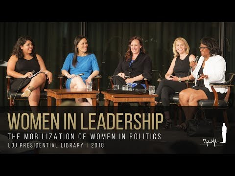 [LBJ Future Forum] Women In Leadership: The Mobilization Of Women In Politics