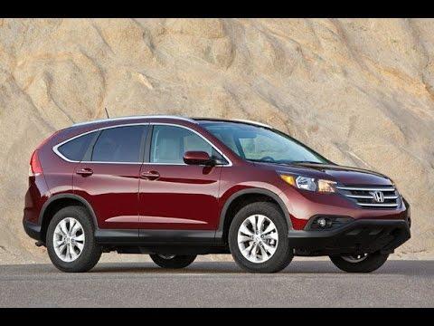 Обзор нашей Honda CRV 2013. Часть 1.