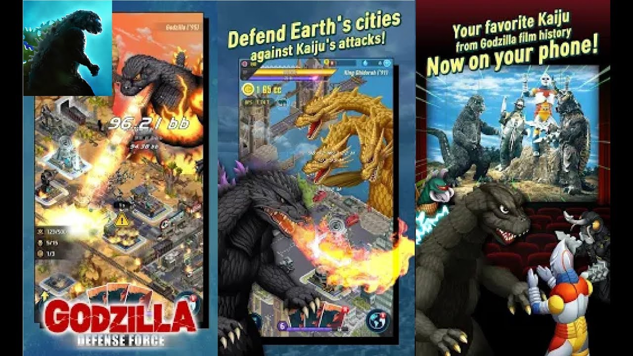 godzilla mobile game