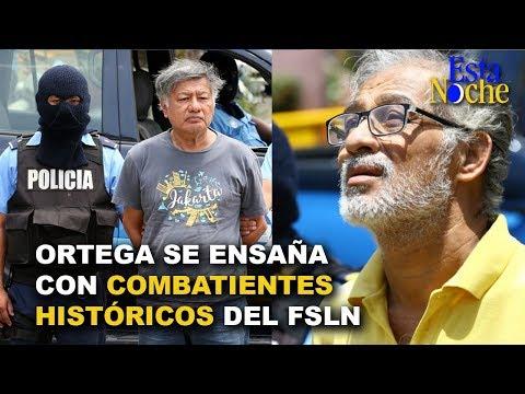 Combatientes históricos del FSLN y amigos de los hermanos Ortega son acusados de terrorismo