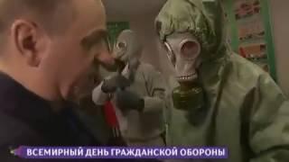 Уроки гражданской обороны в СПб Пожарно-спасательном колледже