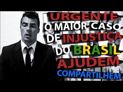 URGENTE / AJUDEM - O MAIOR CASO DE INJUSTIÇA DO BRASIL - JULGADO CONDENADO E CRUCIFICADO SEM VERDADE