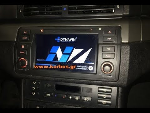 Bmw E46 (E Series) with Dynavin N7-E46 www korbos gr