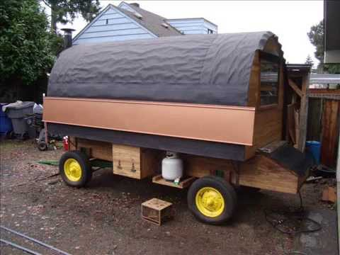 building a sheepwagon sheep camp wagon with jim howard - Sheep Wagon