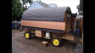 Building A Sheepwagon, Sheep Camp Wagon With Jim Howard