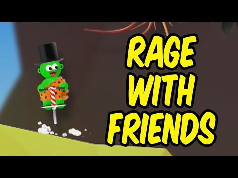 Pretty much Getting Over It with friends - Pogostuck: Rage With Your Friends