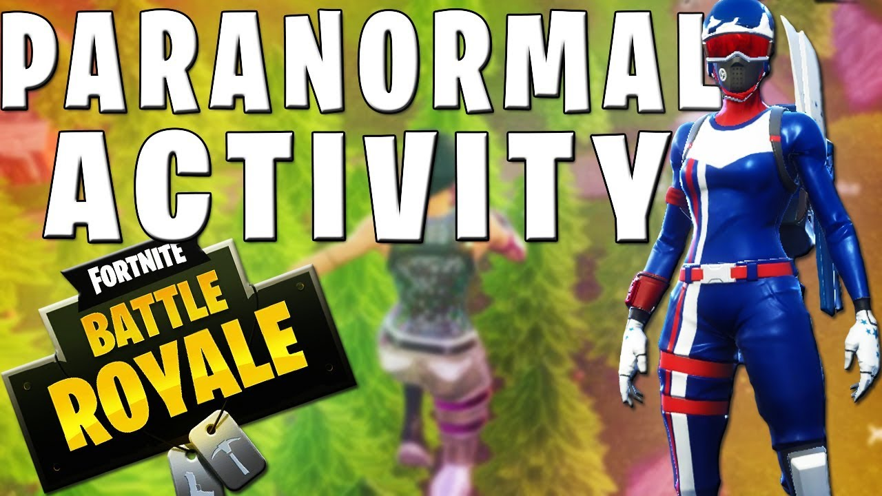 paranormal fortnite