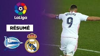 Résumé : Benzema et Hazard relancent le Real Madrid à Alavés