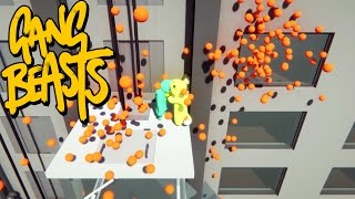 gang beasts orange magneto is back father and son gameplay